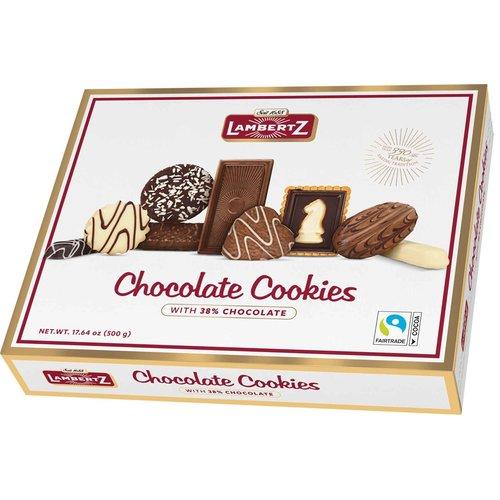 Lambertz Lambertz Assorted Chocolate Cookie 17.4 oz