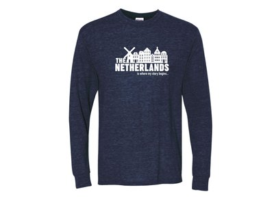 Peters Netherlands My Story Navy Adult LG Long Sleeve-shirt