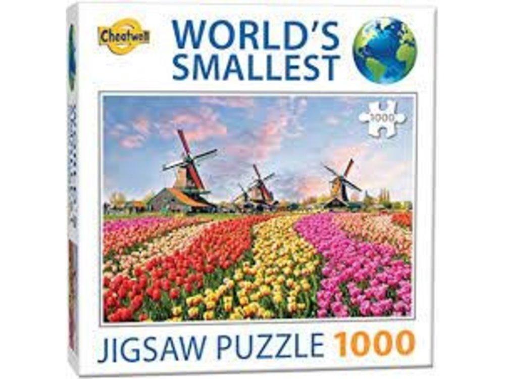 Games Puzzle Worlds Smallest Dutch Windmills 1000 pcs