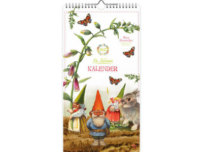 Rien Poortvliet 2022 Calendar Gnomes 7 x 13