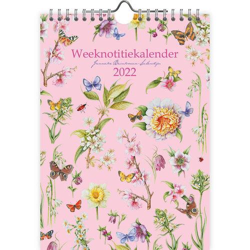 Brinkman 2022 Note Calendar Flowers 6 x 9