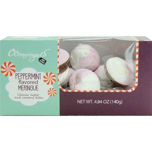 Jeurgens Jeurgens Chocolate & Peppermint Flavored Meringues Box 4.94 oz