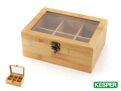 Pickwick Pickwick Bamboo Tea Organizer Box
