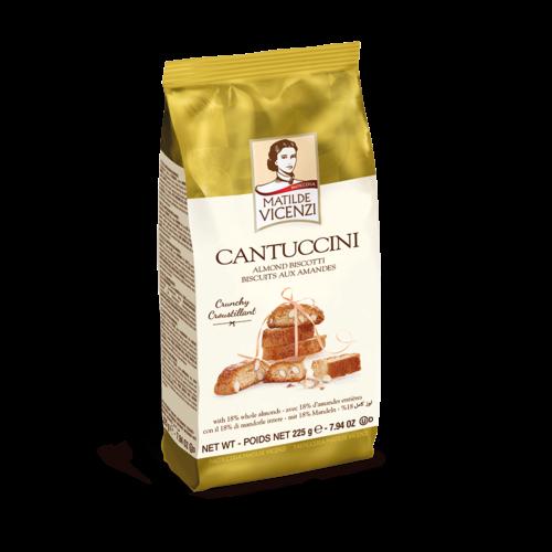 Italian Fine Pastry Vicenzi Cantuccini Almond Biscotti Cookie 7.94 Oz