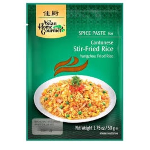 Asian Home Gourmet Asian Home Gourmet Cantonese Stir Fried Rice Mix