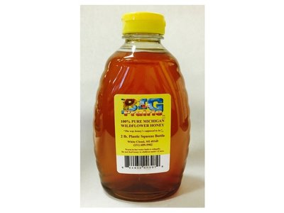 Big Prairie Farm 2 lb Honey Jars