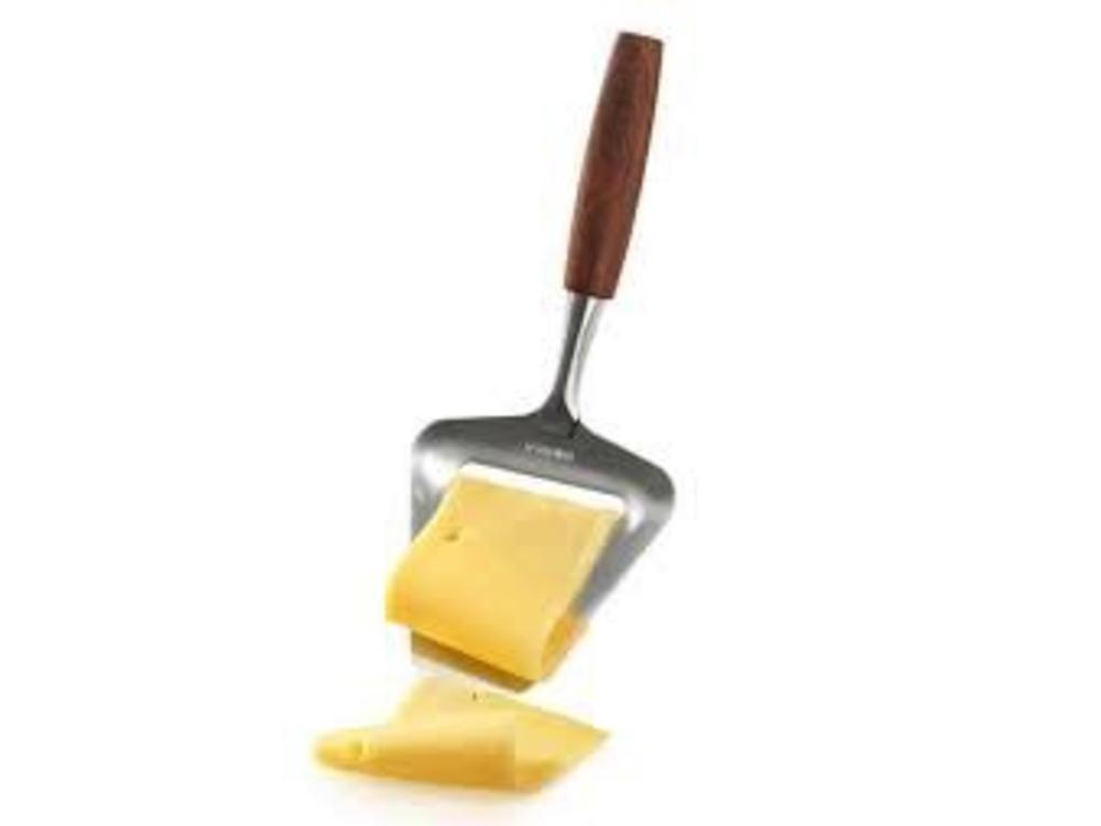 Boska Boska Wood Handle Mini Taste 5.25 in Long Cheese Slicer Stainless Steel