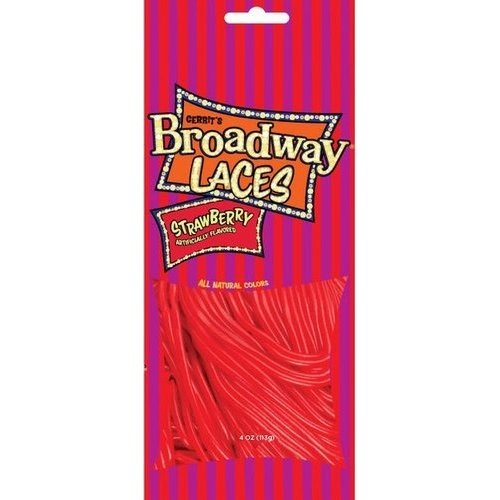 Gerrits Broadway Strawberry Laces 4 Oz