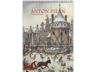 Anton Pieck Amsterdam Birthday Calendar 8.2x11.5