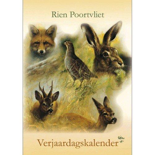 Rien Poortvliet Nature Birthday Calendar 11.5x8