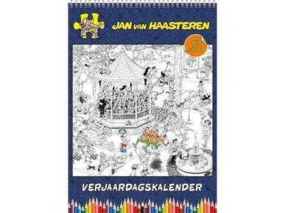 Jan van Haasteren Color Yourself Calendar