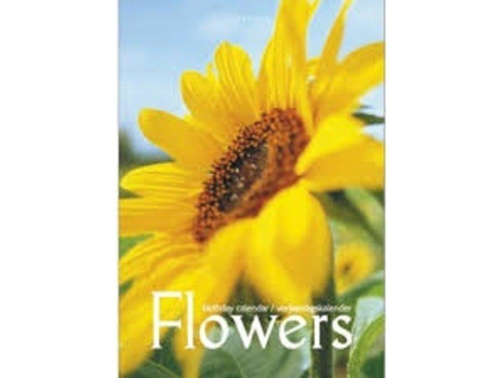 Birthday Calendar Flowers