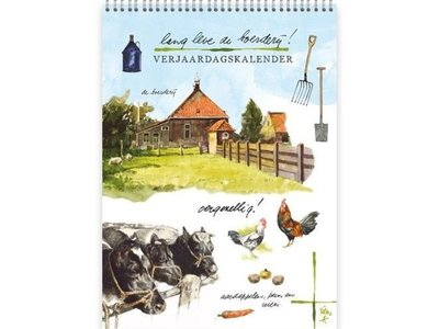 Rien Poortvliet Long Live the Farm Calendar