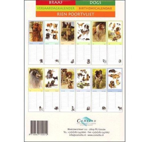 Rien Poortvliet Dogs Calendar