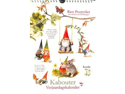 Rien Poortvliet Kabouters - Gnomes Birthday Calendar