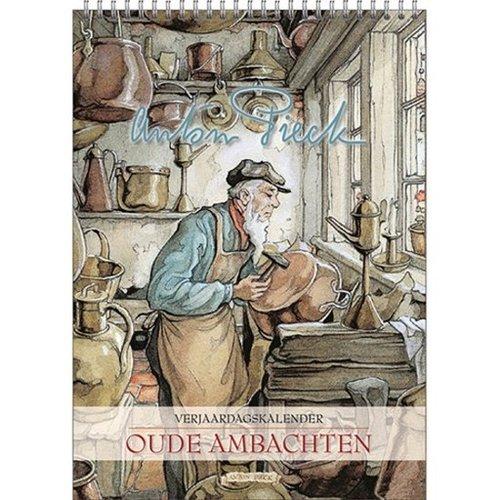 Anton Pieck Ambacht -trades Birthday calendar