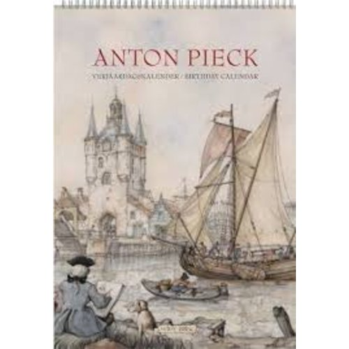 Anton Pieck Havens - Harbor views Birthday calendar