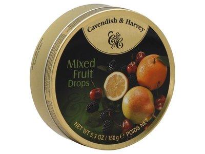 Cavendish & Harvey Cavendish & Harvey Mixed Fruit 5.3 Oz Tin