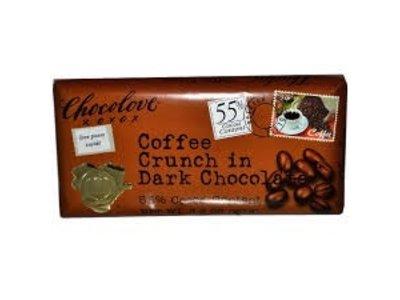 Chocolove Chocolove Dark Coffee Crunch 3.2 oz Bar