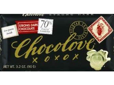 Chocolove Chocolove Strong 70% Dark 3.2 oz Bar