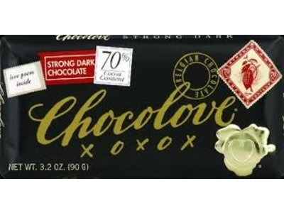 Chocolove Chocolove Strong 70% Dark Bar