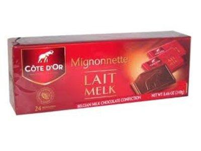 Cote D Or Cote D Or Milk Mignonettes = dated 10/9/2019