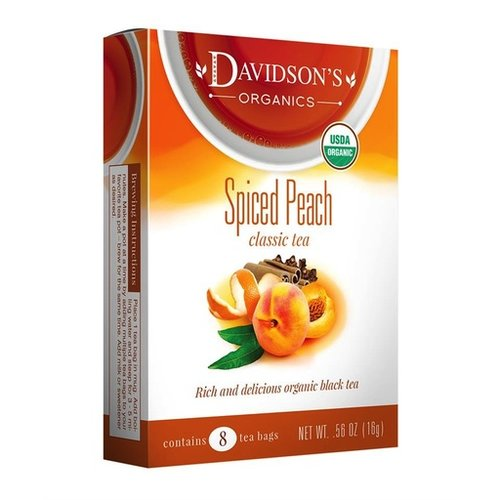 Davidsons Davidsons Spiced Peach tea
