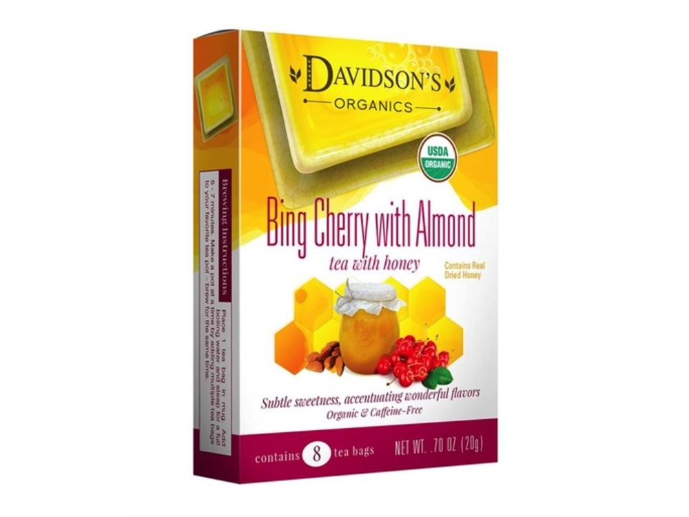Davidsons Davidsons Bing Cherry w/Almond Tea 8 ct