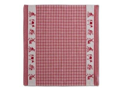 DDDDD DDDDD Dutchie - Red Tea Towel 24x25 inch