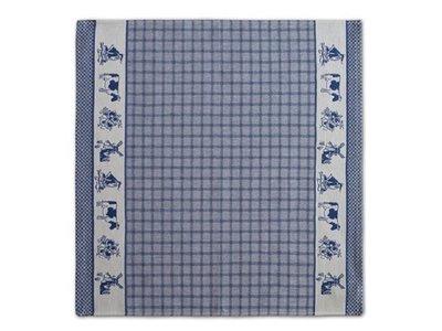 DDDDD DDDDD Dutchie - Blue Tea Towel 24x25 inch