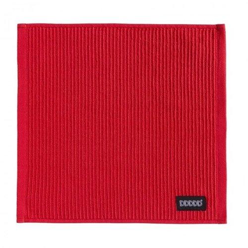 DDDDD DDDDD Dish Cloth Classic Red