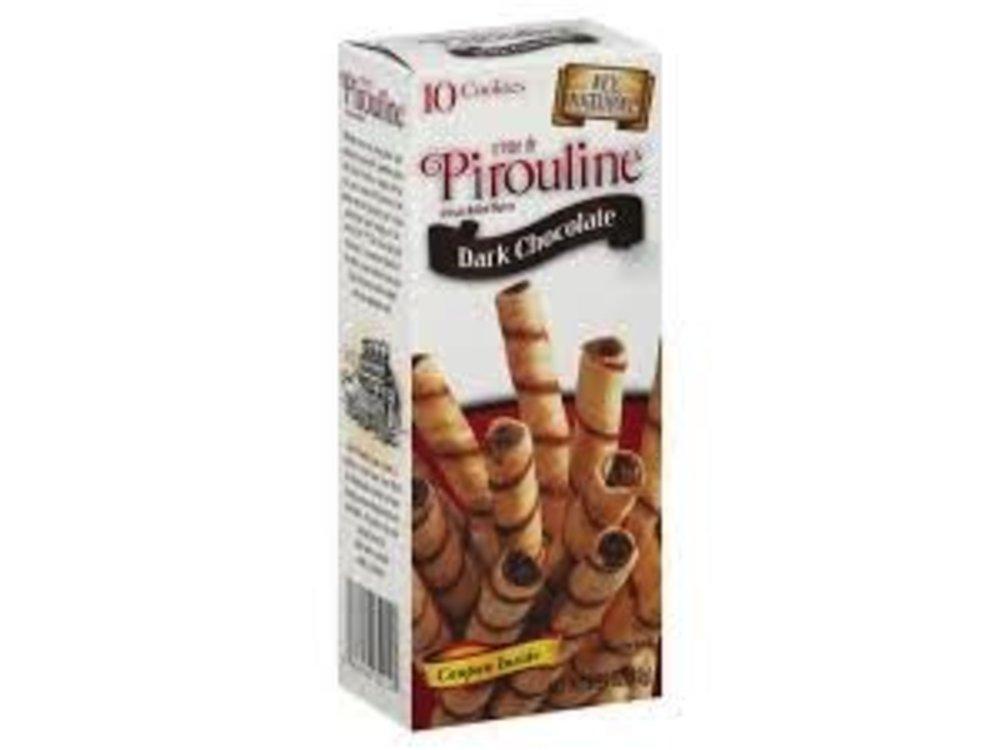 De Beukelaar DeBeukelaar Dark Choc Pirouline Cookie 3.25oz Box 12/cs