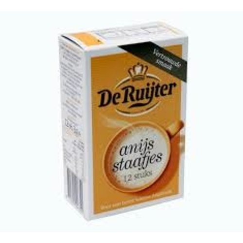 De Ruijter De Ruijter Anise Sticks Powder for Anise Milk 12 ct