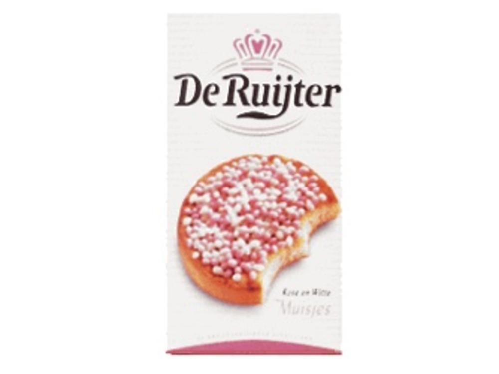 De Ruijter De Ruijter Pink and White Sugared Aniseed