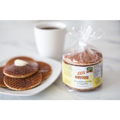 Double Dutch Double Dutch 100% Butter Stroopwafels 8 ct