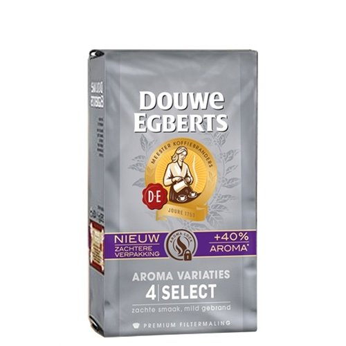 Douwe Egberts Douwe Egberts 4 Select Aroma ground coffee 8.8 oz (silver)