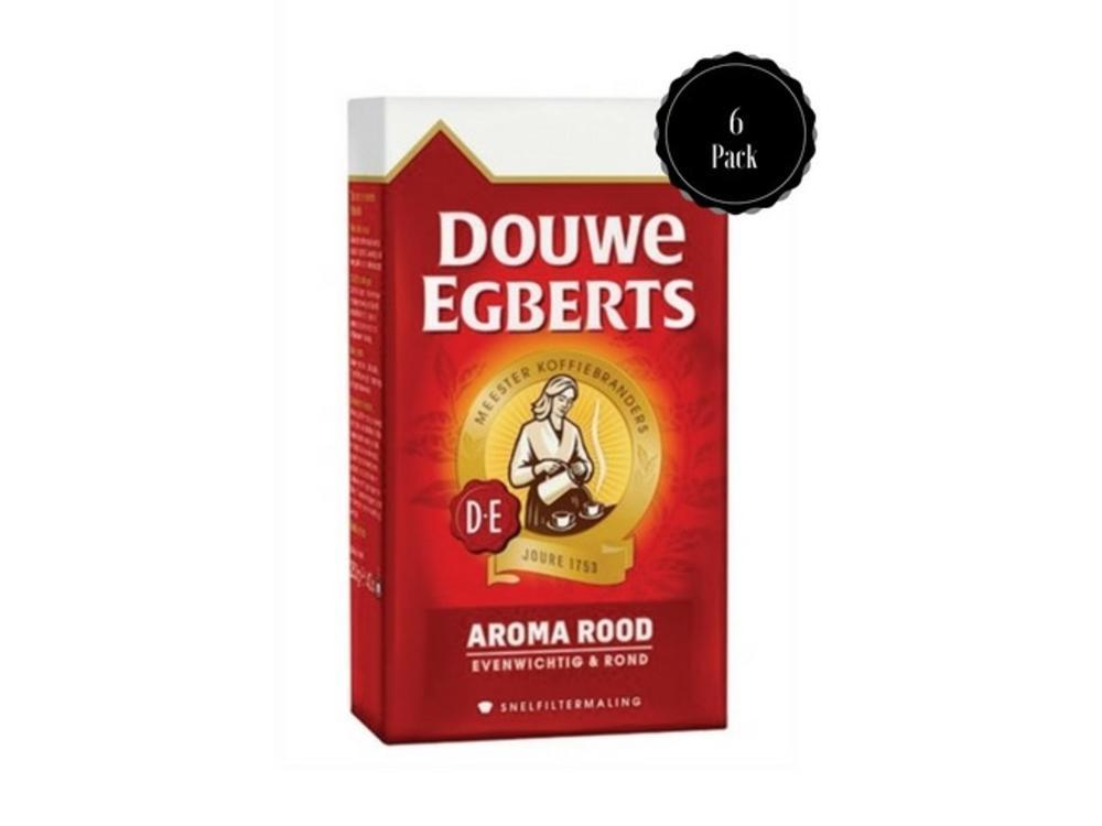 Douwe Egberts Douwe Egberts Aroma Rood 6 PACK Coffee 8.8 oz