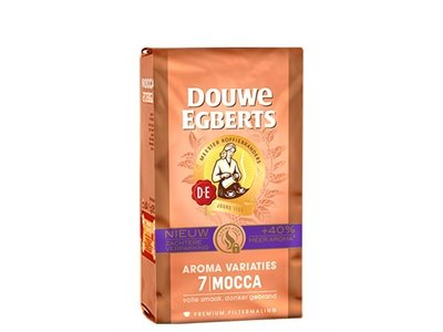 Douwe Egberts Mocca 7 Aroma Coffee Ground 8.8 oz  DATED OCT 30