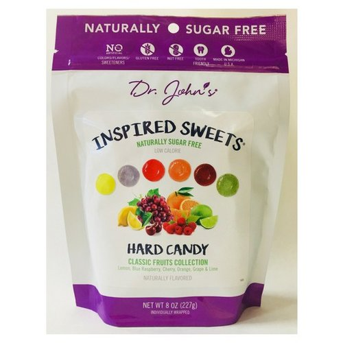 Dr Johns Dr Johns Inspired Sweets Classic Fruits hard candies 8 oz bag