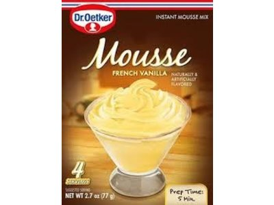 Dr Oetker Dr Oetker French Vanilla Mousse 2.7 oz box