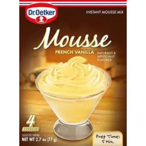Dr Oetker Dr Oetker French Vanilla Mousse 2.7 oz box