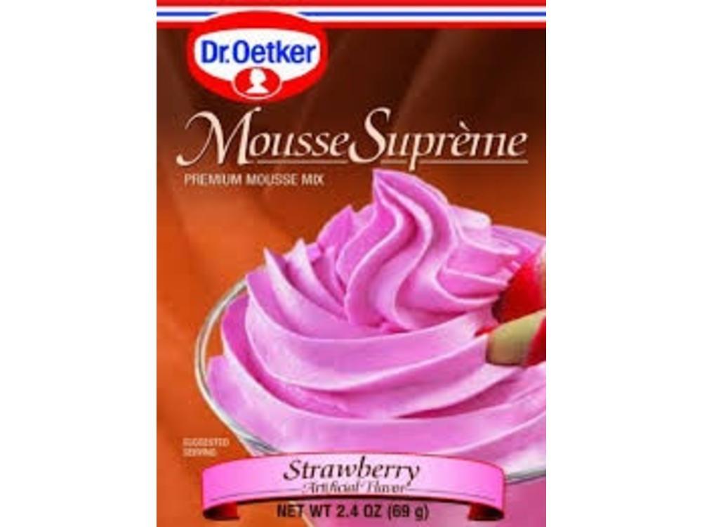 Dr Oetker Dr Oetker Strawberry Mousse 2.7 oz box