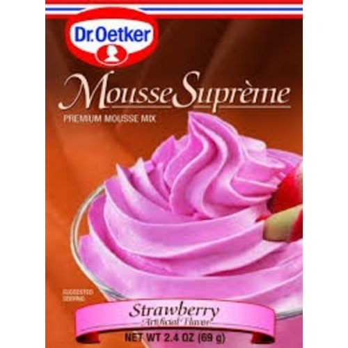 Dr Oetker Dr Oetker Strawberry Mousse 2.7 oz box