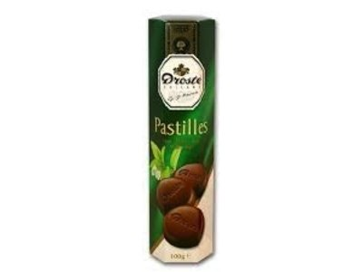 Droste Droste Mint Dark Chocolate Pastille 2.99 Oz