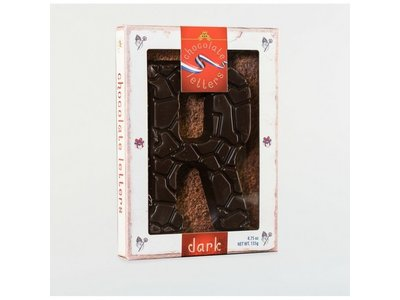 Lagosse Large Dark R Chocolate Letter 4.7oz