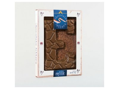 Lagosse Large Milk E Chocolate Letter 4.7oz