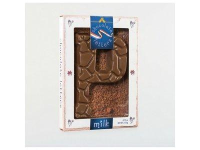 Dutch Letters DL P Milk Chocolate Letter 4.7oz