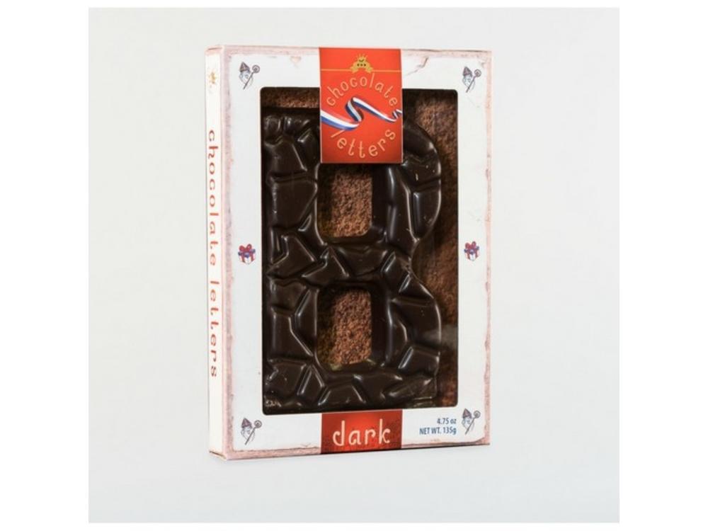 Lagosse Large Dark B Chocolate Letter 4.7oz
