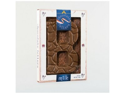 Dutch Letters DL B Milk Chocolate Letter 4.7oz
