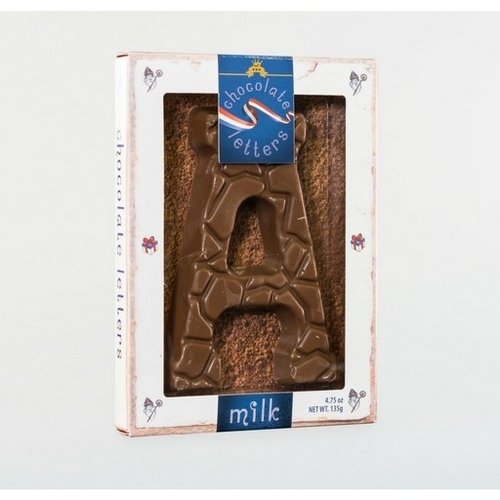 Lagosse Large Milk A Chocolate Letter 4.7oz